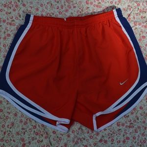 Nike Tempo Short Red Navy Blue Small